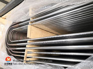 Welded U Bend Stainless Steel Tube Bright Annealed Finish ASTM A688 / SA688