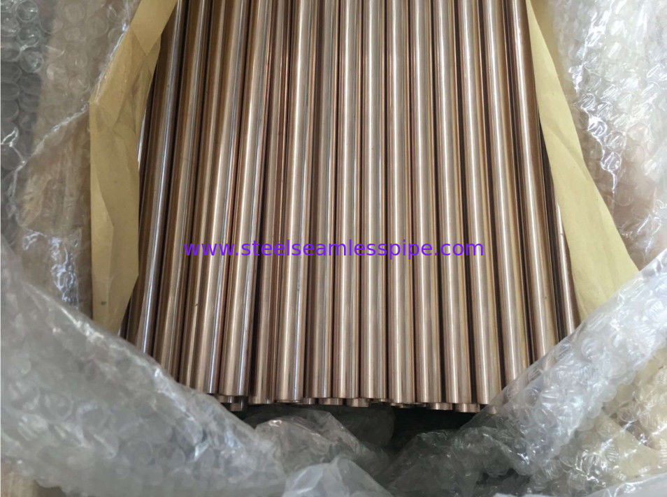 Copper Brass Tube ASTM B111 O61 C70600 C71500 Used for Boiler Heat Exchanger Air condenser