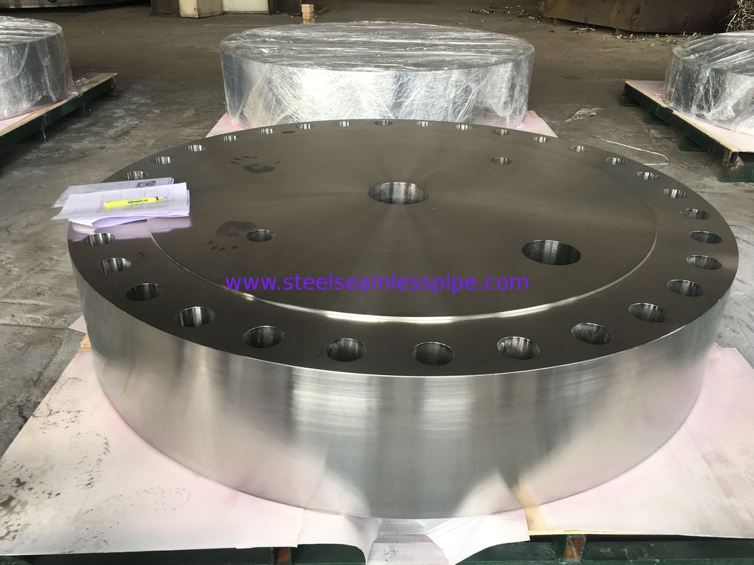Durable Round Steel Flanges Tubesheet A516 Standard GR.70 Grade High Strength